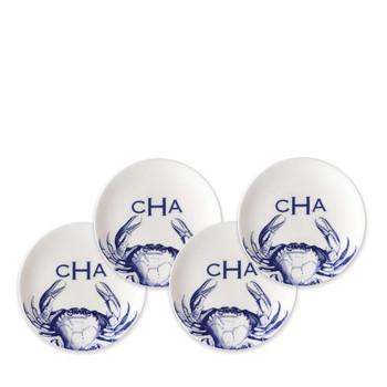 """Caskata 6.25"""" Crabs Canapes - Set of 4"""