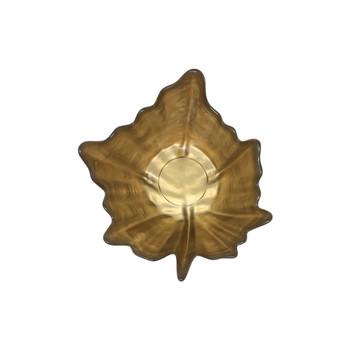 Vietri Leaf Glass Small Bowl