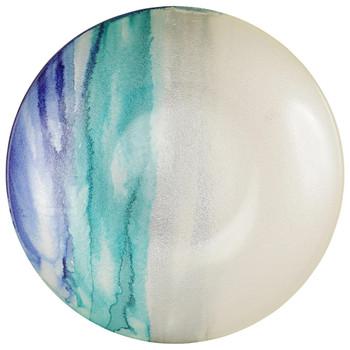 Vietri Sea Glass Ombre Serving Bowl