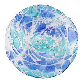 Vietri Sea Glass Serving Bowl