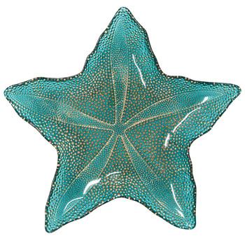 Vietri Sea Glass Medium Starfish Dish