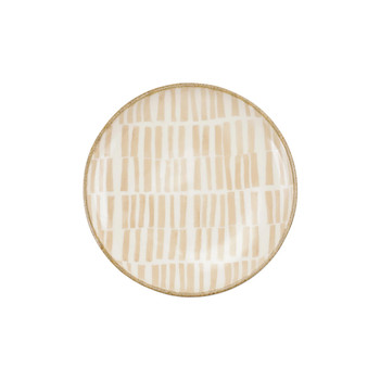 Viva by Vietri Earth Assorted Cocktail Plates - Set of 4