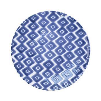 Viva by Vietri Santorini Assorted Dinner Plates - Set of 4