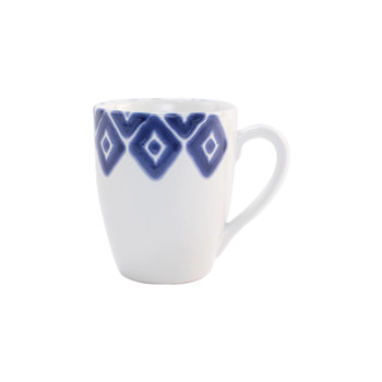 Viva by Vietri Santorini Assorted Mugs - Set of 4