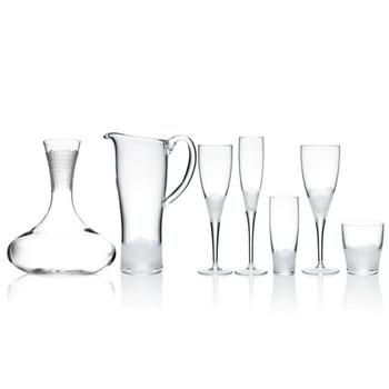 Kim Seybert Paillette White Wine Glass