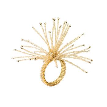 Kim Seybert Spider Bead Burst Napkin Ring