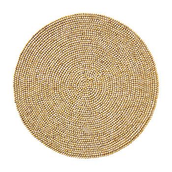 Kim Seybert Wood Round Placemat