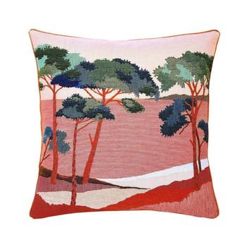 Yves Delorme Iosis Pardi Pin Decorative Pillow