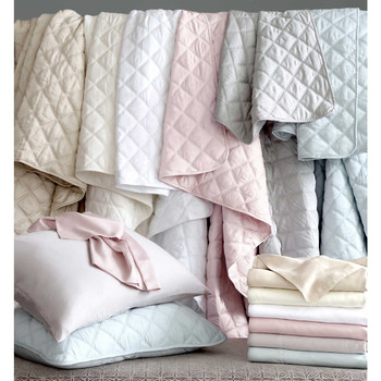 Pine Cone Hill Quilted Silken Coverlet
