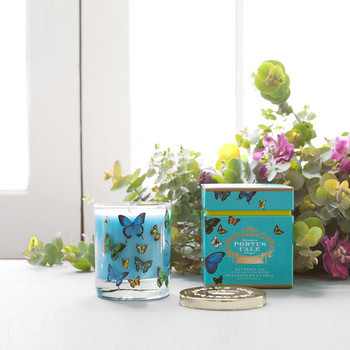Portus Cale Butterflies Candle