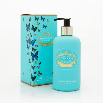 Portus Cale Butterflies Hand & Body Wash - 300ml