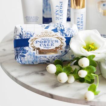 Portus Cale Gold & Blue Soap Paper wrap - 150g
