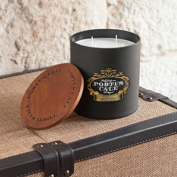 Portus Cale Ruby Red 4 Wick Candle