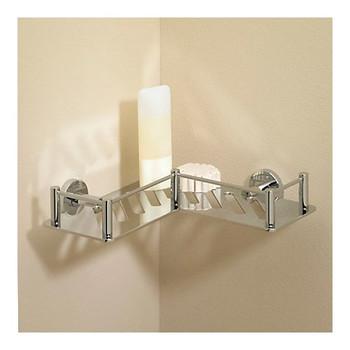 Valsan Essentials L-Shape Shower Shelf
