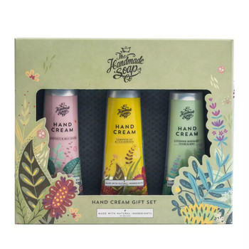 The Handmade Soap Company Hand Cream Gift Set