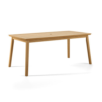 Alyn Teak Dining Table (Natural)