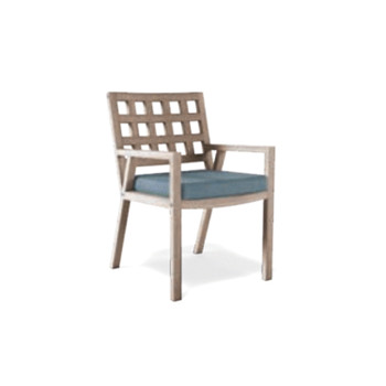 Thos. Baker alyn dining armchair frame (weathered)