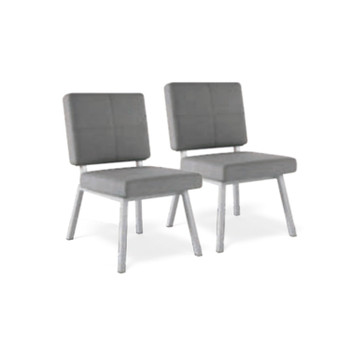 Thos. Baker PAIR madison dining chair (graphite)