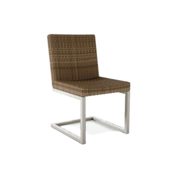 Thos. Baker palms side chair (frame only)