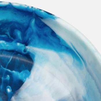 Blue Pheasant Hugo Small Swirled Resin Serving Bowl - Pack of 2