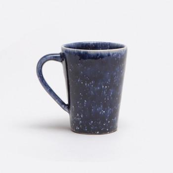 Blue Pheasant Isla Spotted Navy Mug - Pack of 4