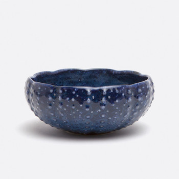 Blue Pheasant Isla Spotted Navy Pasta/Soup Bowl - Pack of 4