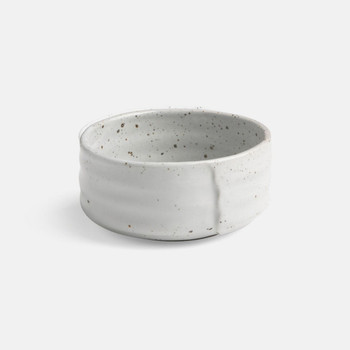 Blue Pheasant Lucas White Salt Glaze Cereal/Ice Cream Bowl - Pack of 4