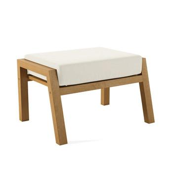 Alyn Ottoman With White Cushion