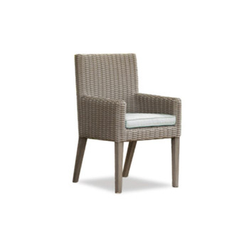 Hampton Dining Chair With White Cushion