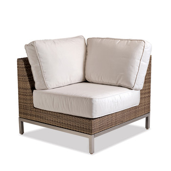 Palms Sectional Corner With White Cushion