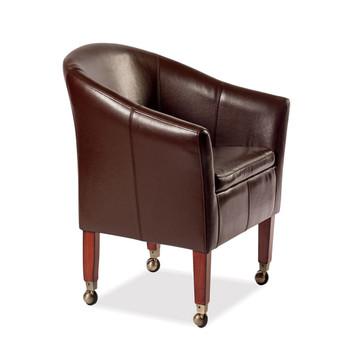 Akston Leather Chair (Tobacco)