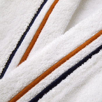 Yves Delorme Men's Dyade Kimono Bathrobe