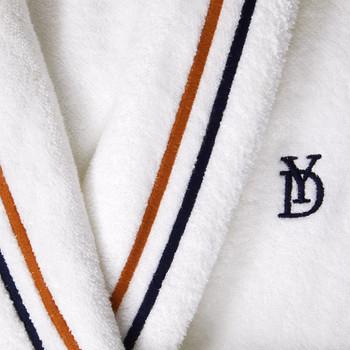 Yves Delorme Women's Dyade Shawl Collar Bathrobe