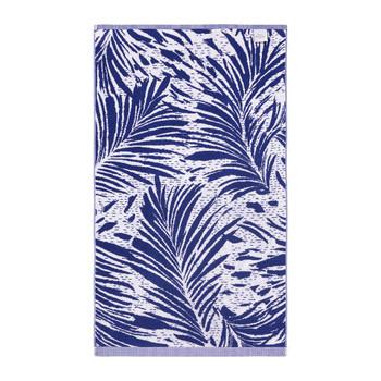 Yves Delorme Abri Blue Bath Sheet