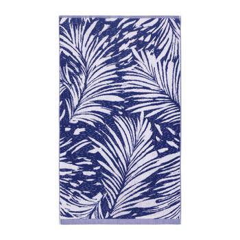 Yves Delorme Abri Blue Bath Towel
