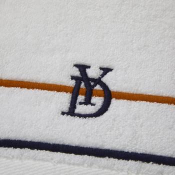 Yves Delorme Dyade Blue/Orange Bath Sheet