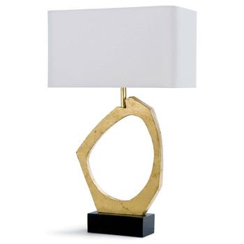 Regina Andrew Manhattan Gold Leaf Table Lamp