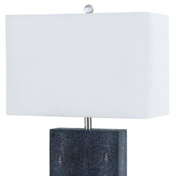 Regina Andrew Marcel Charcoal Shagreen Table Lamp