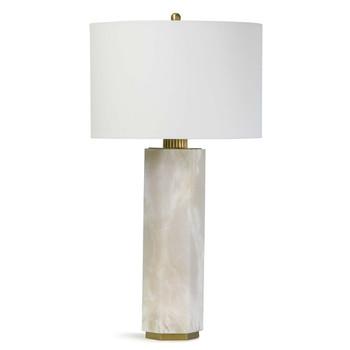 Regina Andrew Gear Alabaster Natural Stone Table Lamp