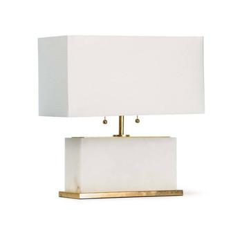Regina Andrew Ali Alabaster Natural Stone Table Lamp