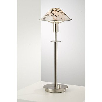 Holtkoetter Aging Eye Table Lamp in Satin Nickel #6514