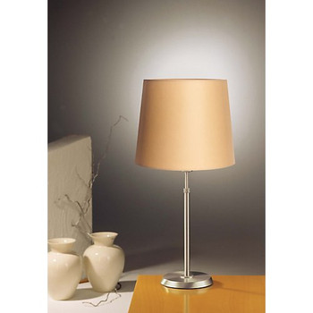 Holtkoetter Dimmable Table Lamp in Satin Nickel #6263