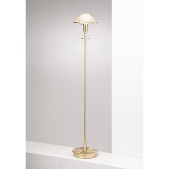 Holtkoetter Aging Eye Floor Lamp in Brushed Brass #6515