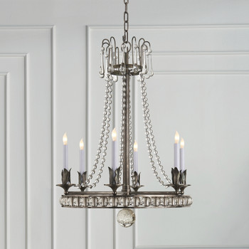 Visual Comfort Joe Nye Regency Style Chandelier