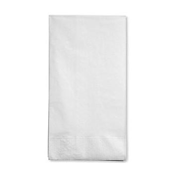 Caspari White Pearl Guest Towel