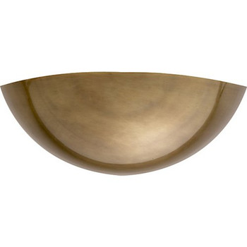 Aerin Irving Wall Sconce, Antique Brass
