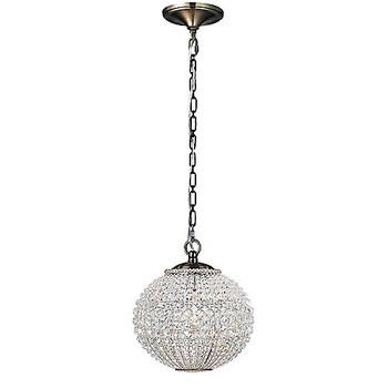 Crystorama Newbury Crystal Sphere Pendant