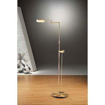Holtkoetter Brushed Brass Pharmacy Floor Lamp