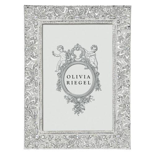 Olivia Riegel Windsor 4X6 Silver Frame