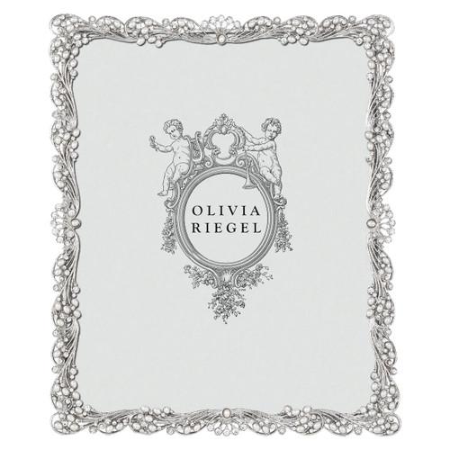 Olivia Riegel Audrey 8X10 Silver Frame